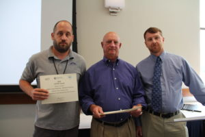 LCA recieved the AWWA's AWOP award for the 12th year in a row.