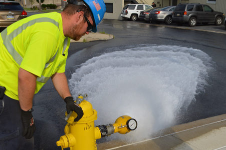Lehigh County Authority » Fire Hydrant Maintenance — Yup, We